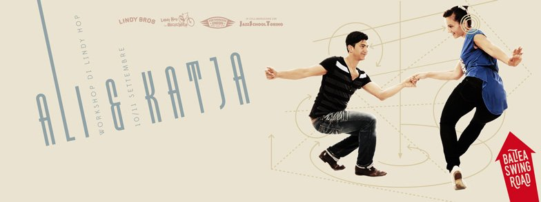 Workshop di Lindy Hop con Ali & Katja