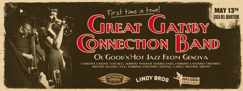 The Great Gatsby Connection Band