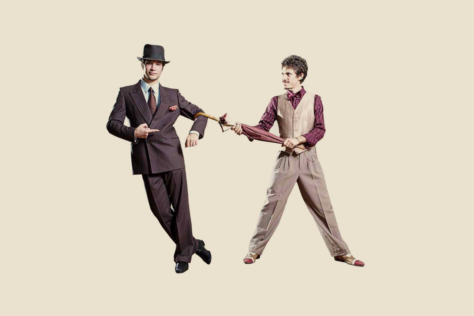 Lindy Bros - Daniele Civiero e Alessio Civiero - L'equilibrio nello swing