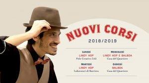 Corsi di Lindy Hop e Balboa 2018/2019