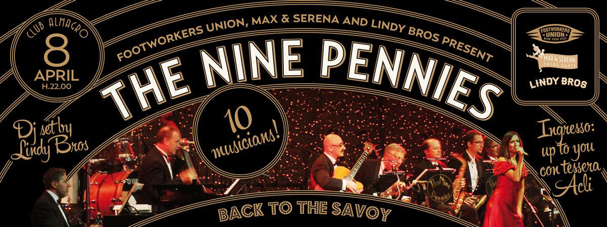 Nine Pennies - Back to the Savoy